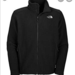 The North Face Men's Black Fleece Zip up Jacket